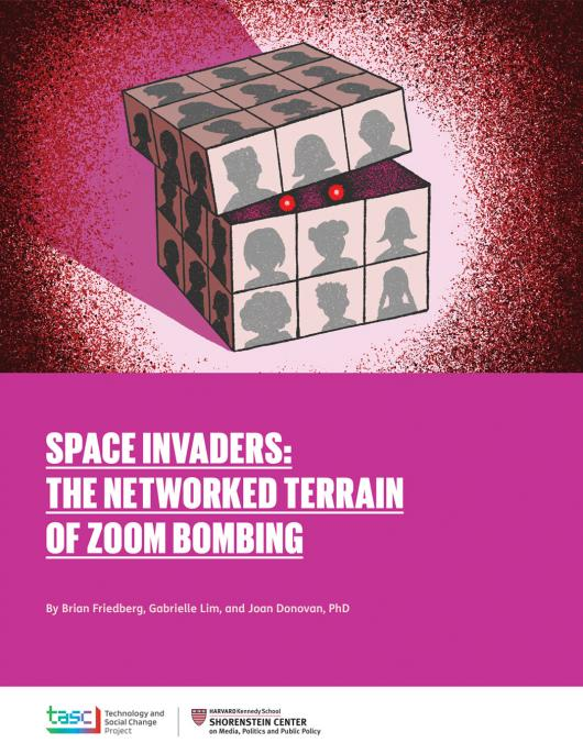 Space Invaders: The Networked Terrain of Zoom Bombing report cover